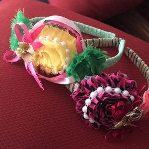 Accessories - shabby  flowers headbands